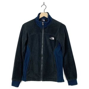 The North Face Two Tone Fleece Zip Up Jacket Small